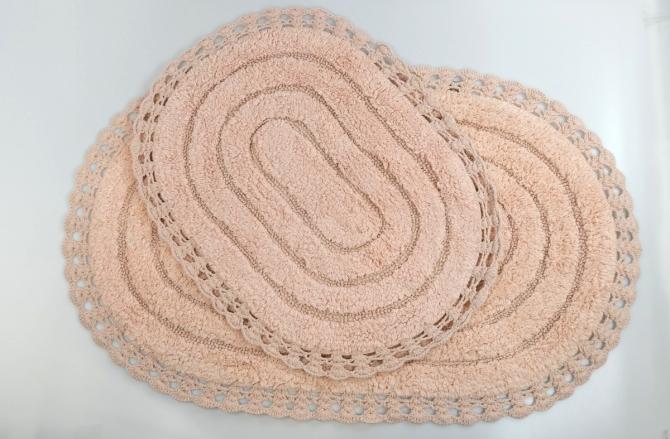 Sofi de Marko Yana набор коврики для ванной пудра