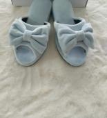 Тапочки №13 (серо-голубые)